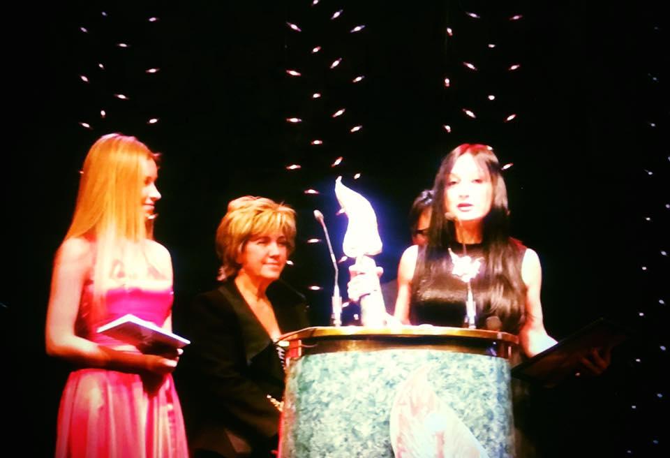 Suzi F Nassif wins an award at VERA Festival-SuziNassif