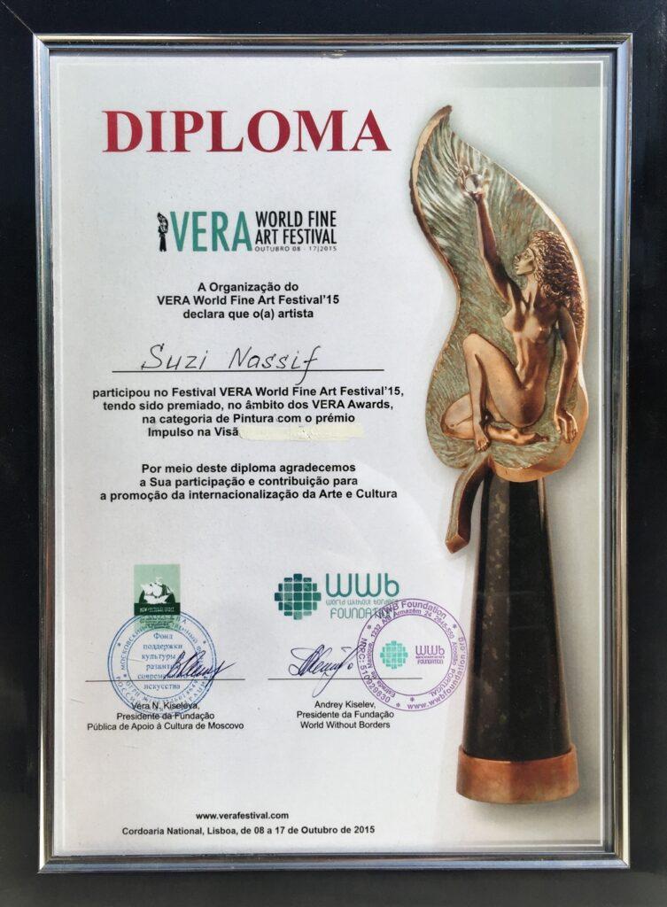 Vera Award 2015