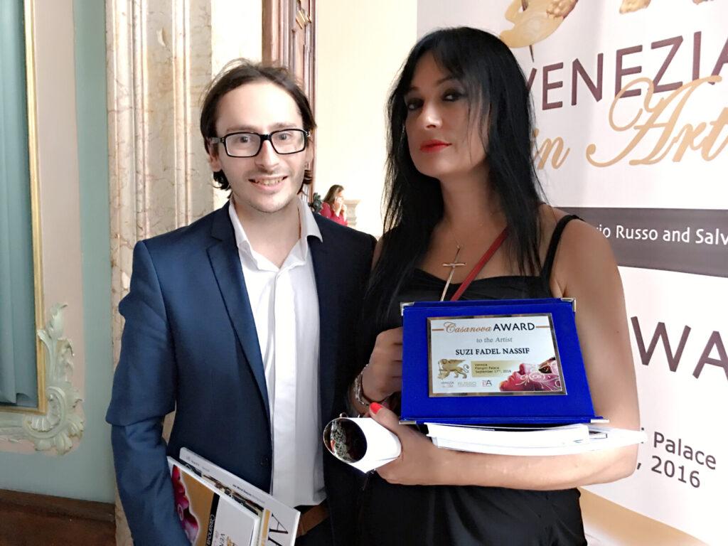 Suzi Bagged Casanova Award 2016