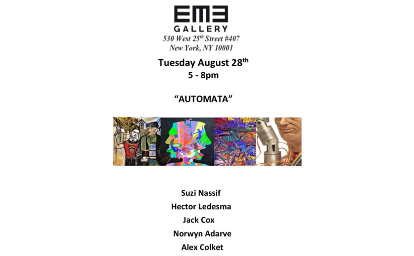 EME gallery - Automata at EME Gallery features Suzi Nassif