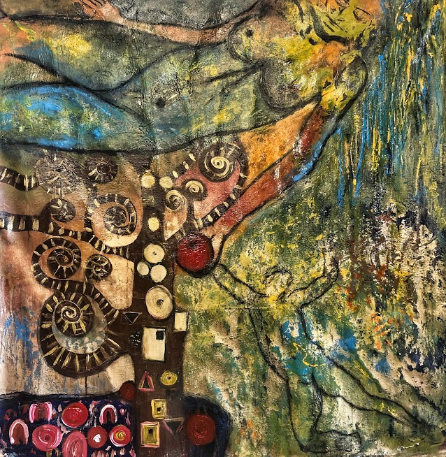 Adam and Eve Suzi Nassif Painting